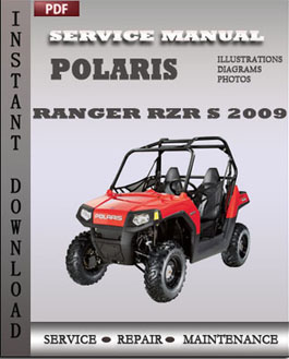 Polaris Ranger RZR 170 2009 manual