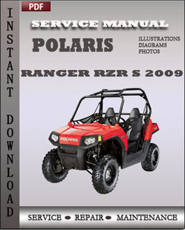 Polaris Ranger RZR Ranger RZR S 2009 manual