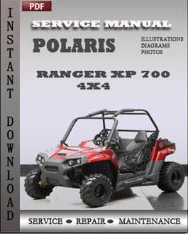 Polaris Ranger XP 700 4x4 manual