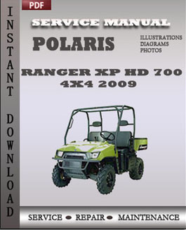 Polaris Ranger XP HD 700 4x4 2009 manual