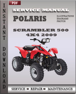 Polaris Scrambler 500 4x4 2009 manual