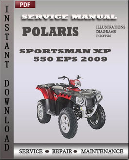 Polaris Sportsman XP 550 EPS 2009 manual