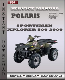 Polaris Sportsman Xplorer 500 2000 manual