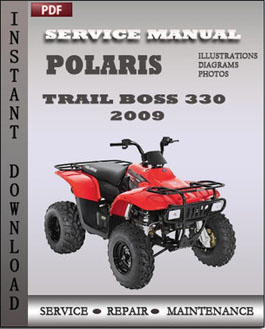 Polaris Trail Boss 330 Trail Blazer 330 2009 manual