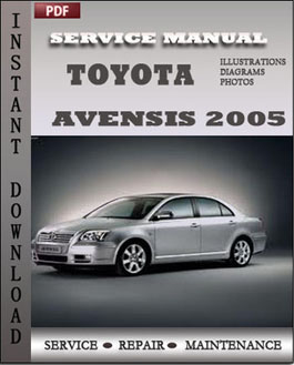 Toyota Avensis 2005 manual