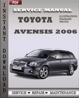 Toyota Avensis 2006 manual