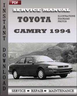 Toyota Camary 1994 manual