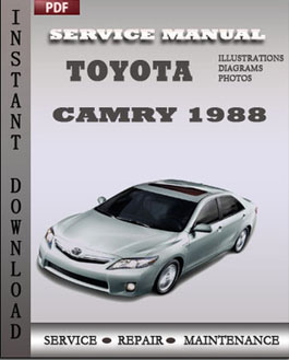 Toyota Camry 1988 manual