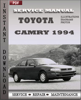 Toyota Camry 1994 manual