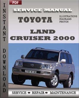 Toyota Land Cruiser 2000 manual