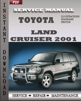 Toyota Land Cruiser 2001 manual