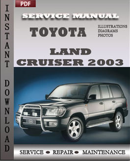 Toyota Land Cruiser 2003 manual