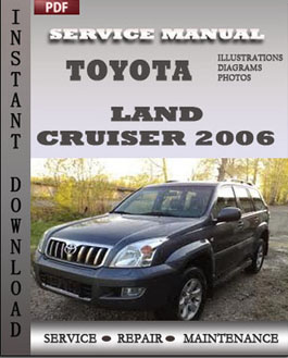 Toyota Land Cruiser 2006 manual