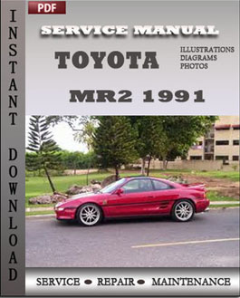 Toyota MR2 1991 manual