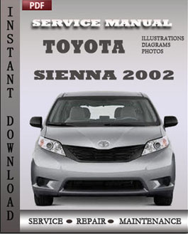 Toyota Sienna 2002 manual