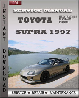 Toyota Supra 1997 manual