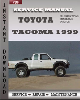 Toyota Tacoma 1999 manual