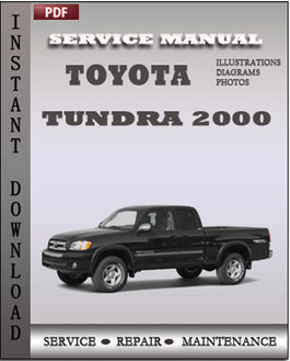 Toyota Tundra 2000 manual