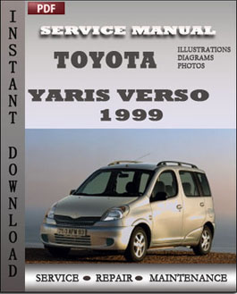 Toyota Yaris Verso 1999 manual
