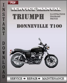 Triumph Bonneville T100 manual
