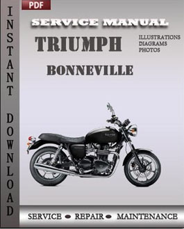 Triumph Bonneville manual