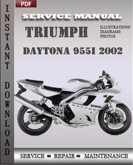 Triumph Daytona 955i 2002 manual