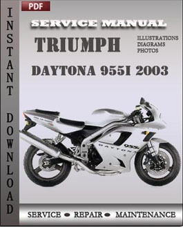 Triumph Daytona 955i 2003 manual