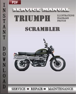 Triumph Scrambler manual