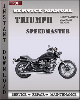 Triumph Speedmaster manual