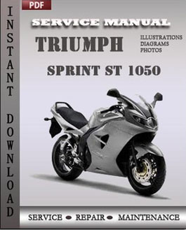 Triumph Sprint ST 1050 manual