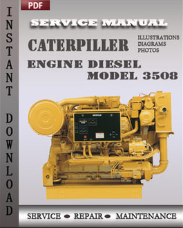 Caterpiller Engine Diesel Model 3508