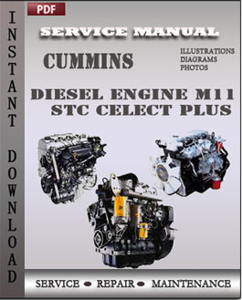 Cummins Diesel Engine M11 STC Celect Plus Industrial