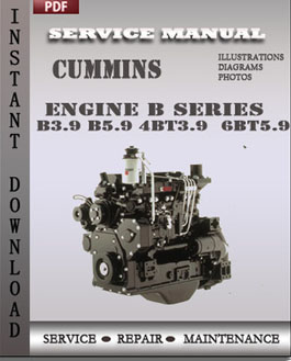 Cummins Engine B Series B3.9 B5.9 4BT3.9 6BT5