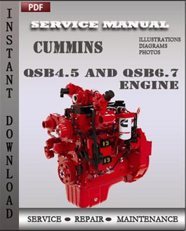 Cummins QSB 4.5 and QSB6