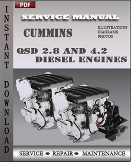 Cummins QSD 2.8 and 4