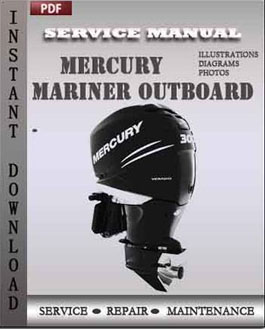 Mercury Mariner Outboard 135 150 175 200 225 Hp 2-stroke