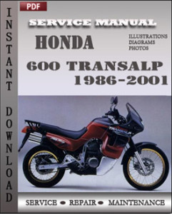 Honda 600 Transalp 1986-2001 GLOBAL