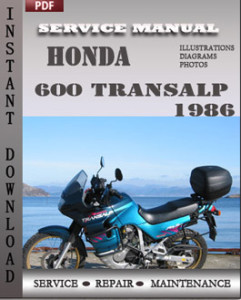 Honda 600 Transalp 1986 global