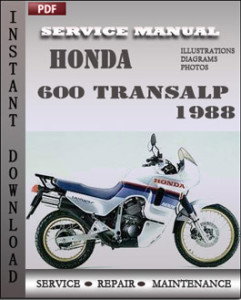 Honda 600 Transalp 1988 global