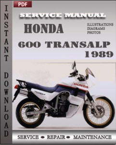 Honda 600 Transalp 1989 global
