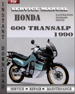 Honda 600 Transalp 1990 global