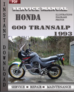 Honda 600 Transalp 1993 global