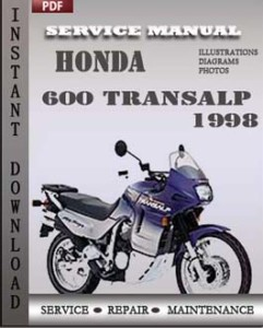 Honda 600 Transalp 1998 global