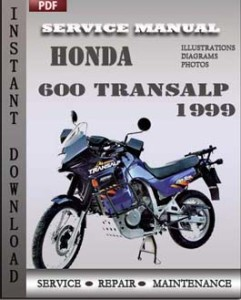 Honda 600 Transalp 1999 global