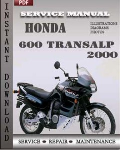 Honda 600 Transalp 2000 global