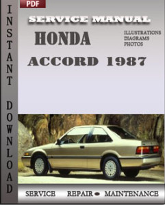 Honda Accord 1987 global