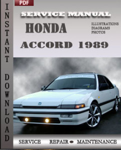 Honda Accord 1989 global