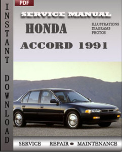 Honda Accord 1991 global