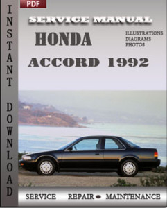 Honda Accord 1992 global