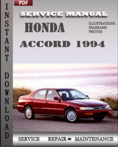 Honda Accord 1994 global